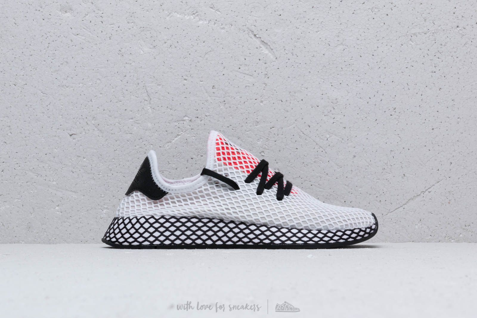 2dbe7647435b adidas Deerupt Runner Ftw White  Core Black  Shored at a great price 92 €