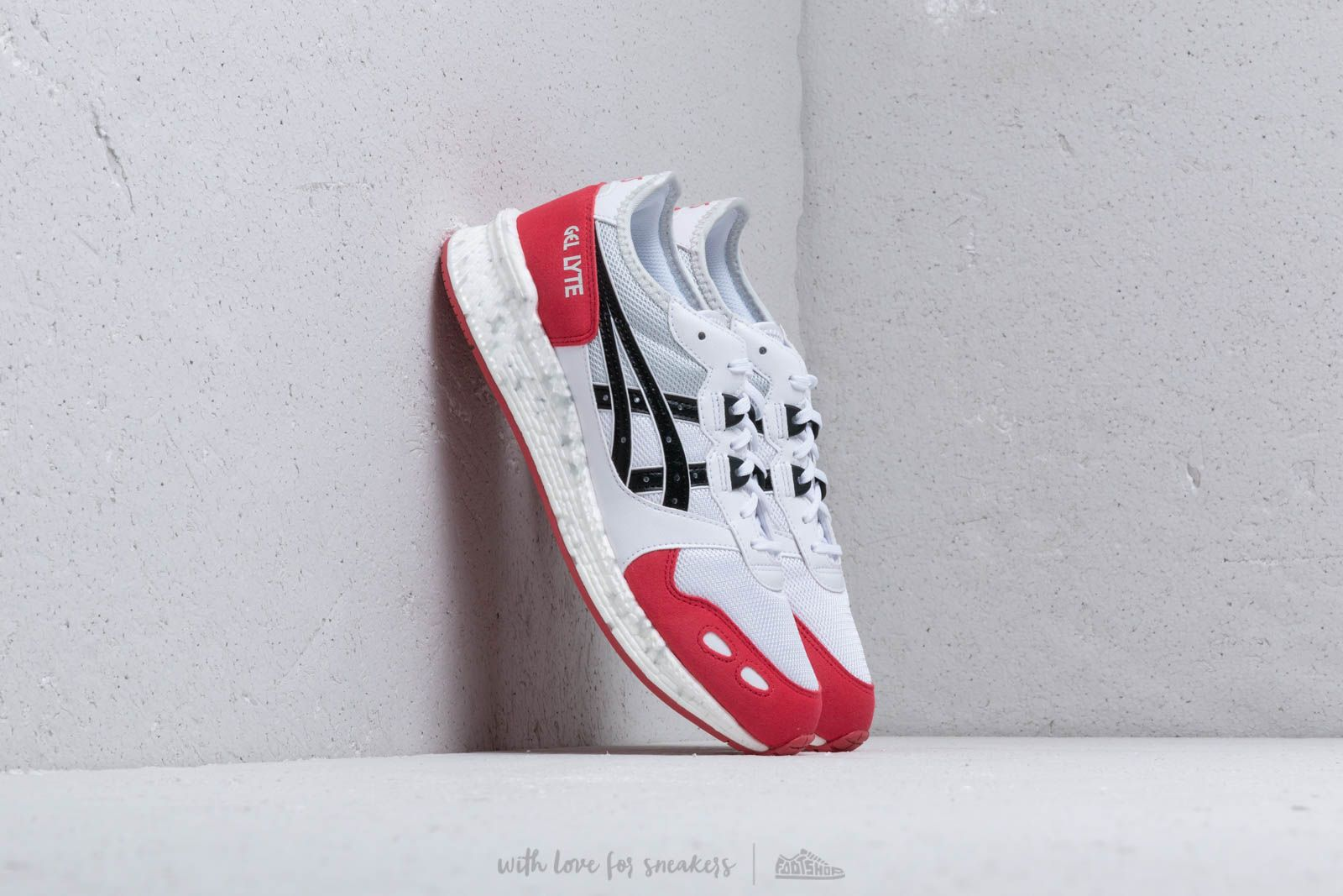 Pánské tenisky a boty Asics HyperGEL-LYTE White / Rouge
