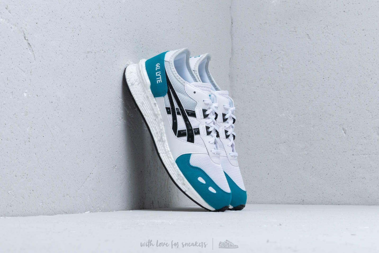 Moški čevlji Asics HyperGel-Lyte White/ Teal Blue