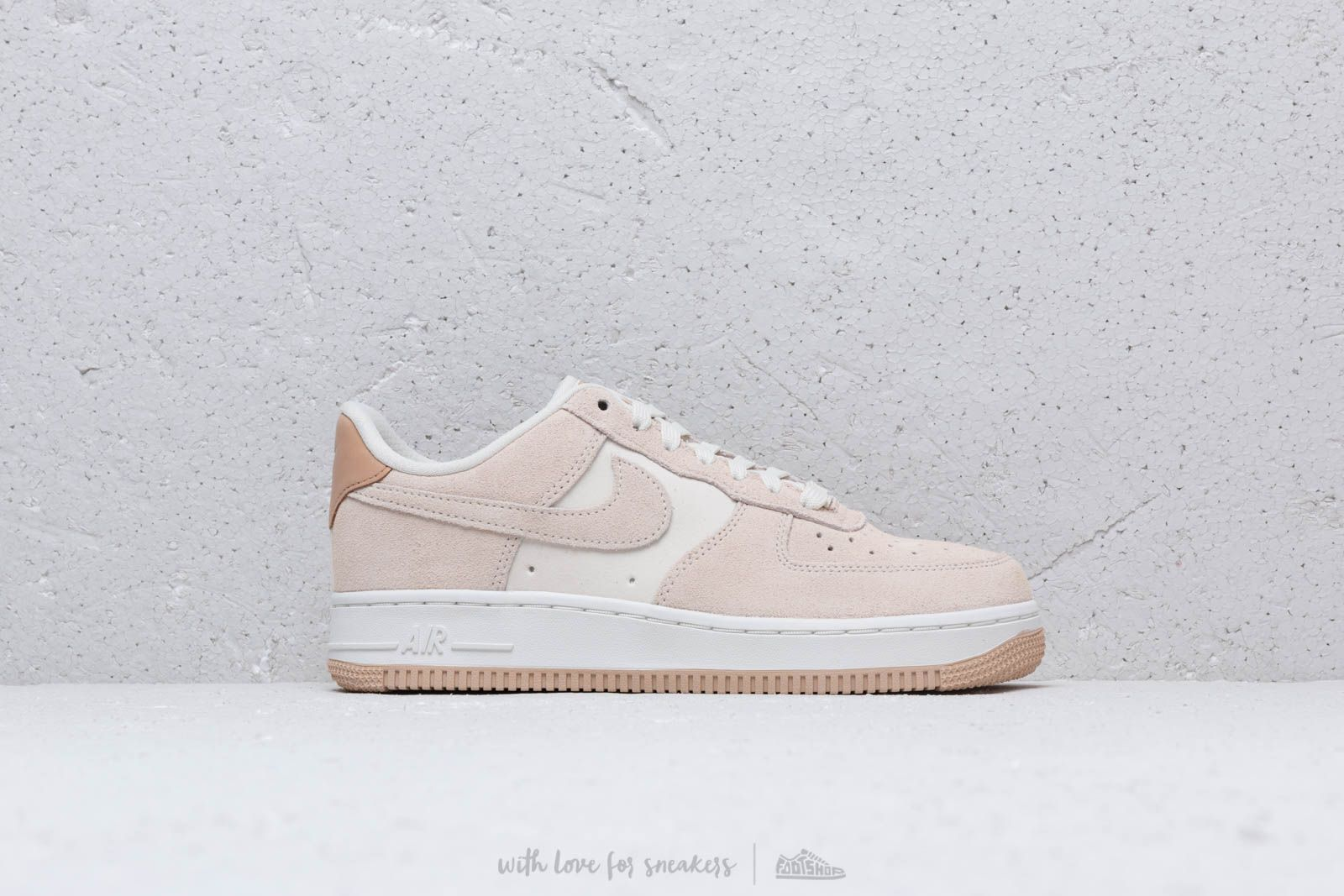 ee324d04a6a Nike Wmns Air Force 1  07 Prm Pale Ivory  Pale Ivory-Summit White ...