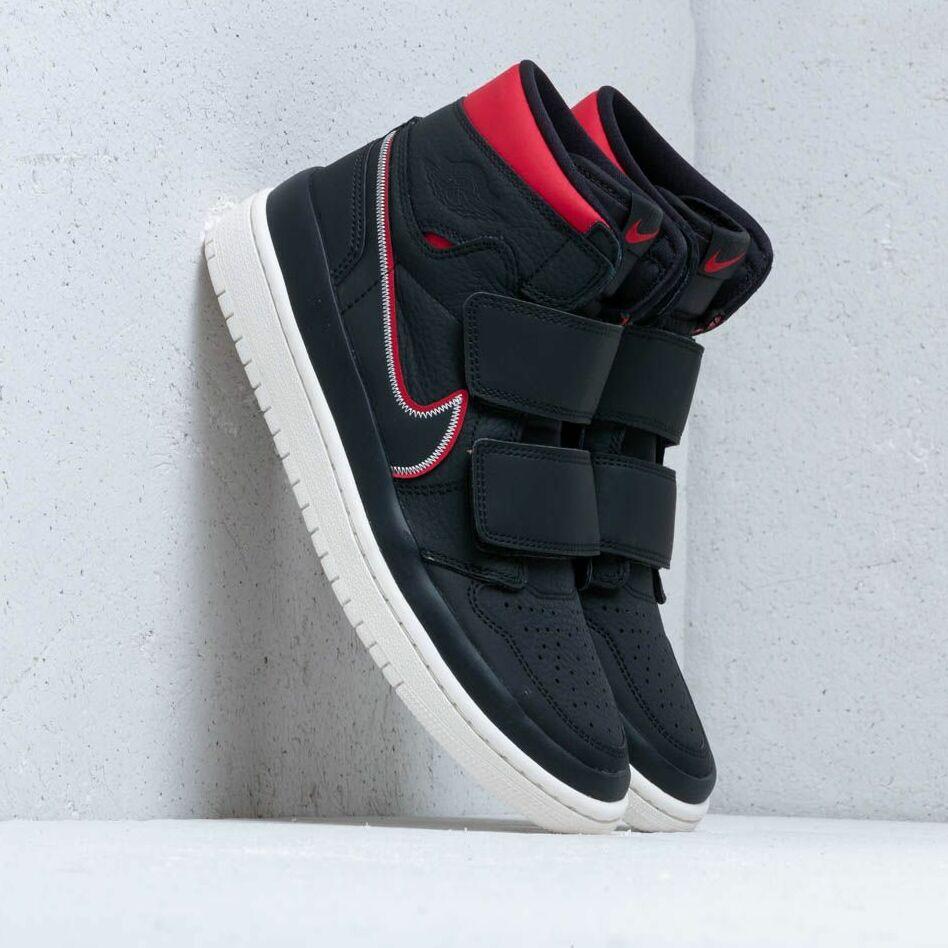 Air Jordan 1 Re Hi Double Strp Black/ Gym Red-Sail EUR 46