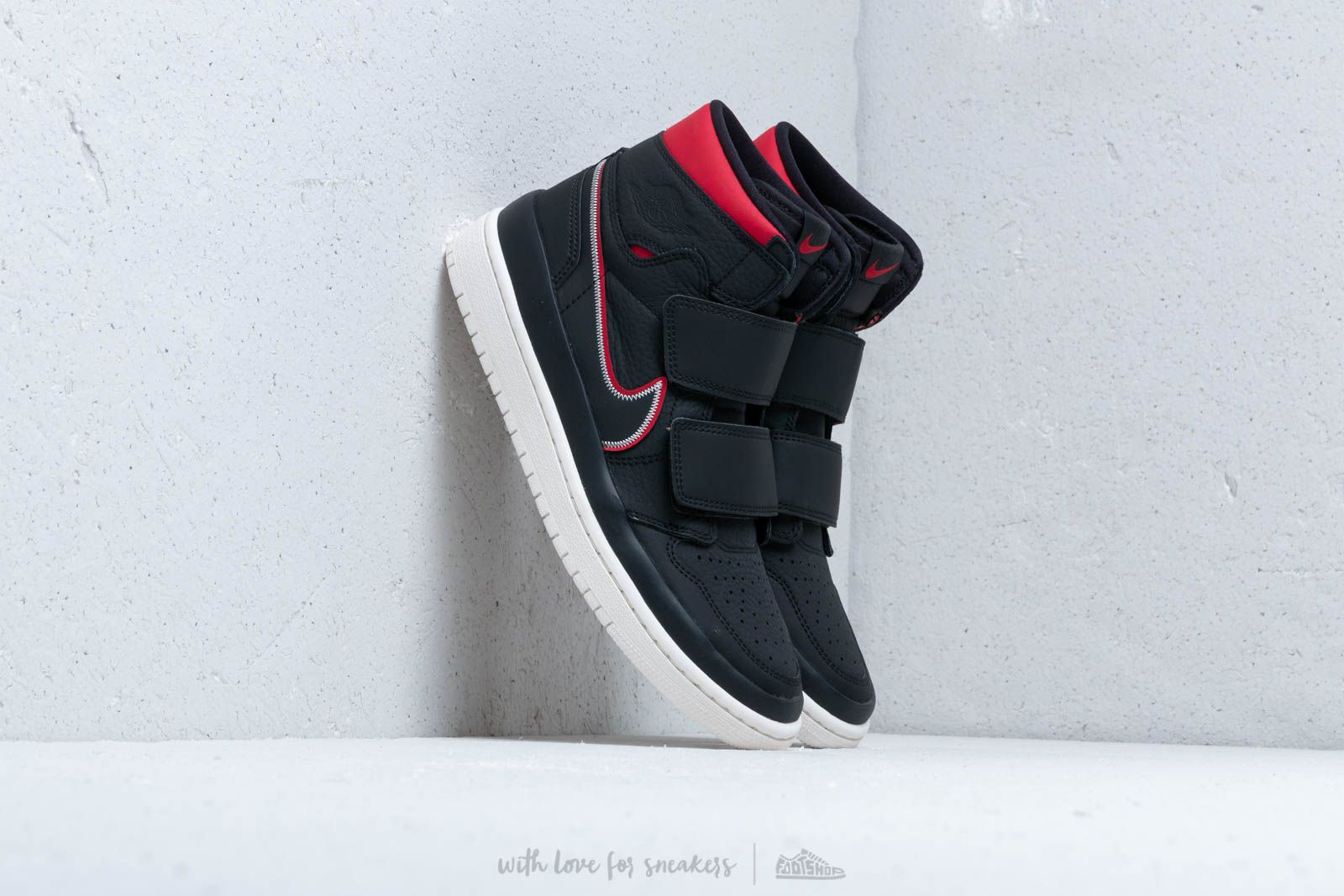 Air Jordan 1 Re Hi Double Strp Black/ Gym Red-Sail at a great price 132 € buy at Footshop