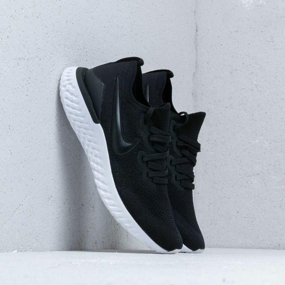 Nike Epic React Flyknit 2 Black/ Black-Gunsmoke EUR 42.5