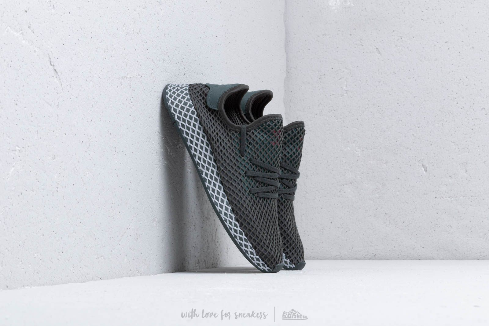8d9ad3efe adidas Deerupt Runner J Grey  Grey Two  Core Black