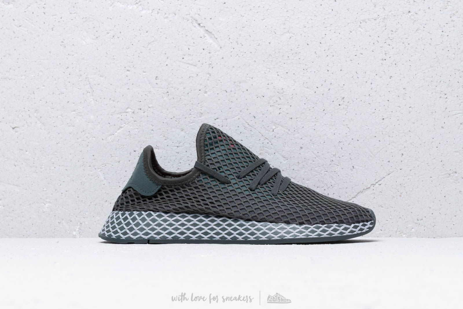 reputable site eff89 04a26 adidas Deerupt Runner J Grey  Grey Two  Core Black la un preț excelent 305