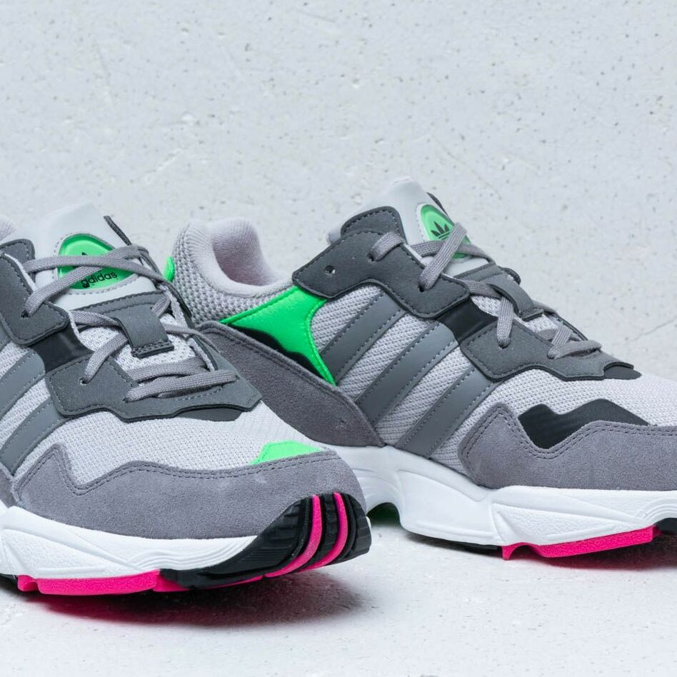 adidas Yung-96 J Grey Two/ Grey Three/ Shock Pink, Gray