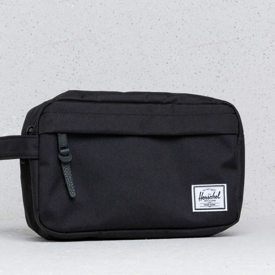 Herschel Supply Co Chapter Travel Kit Black