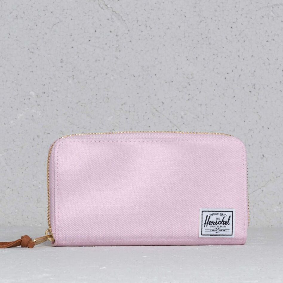 Herschel Supply Co Thomas Wallet Pink Lady Crosshatch