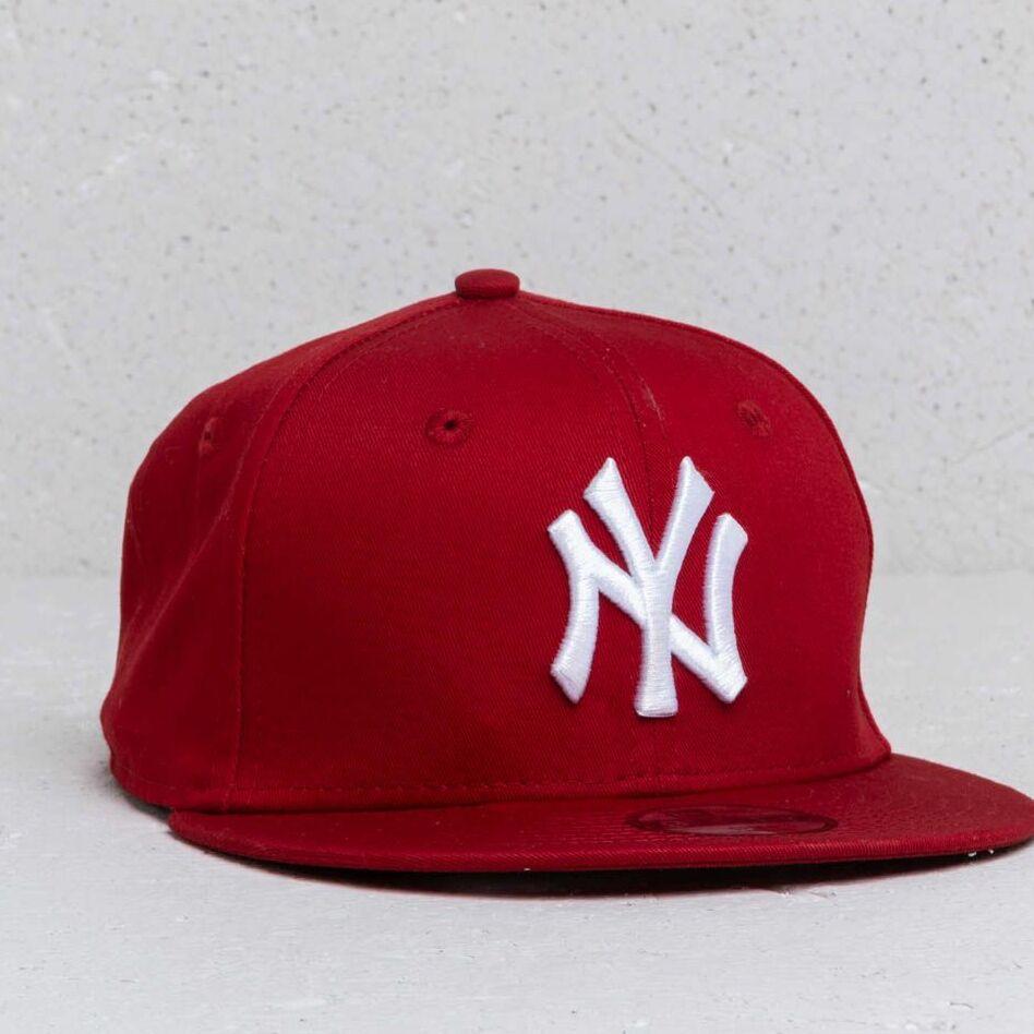 New Era Kids 9Fifty MLB Essential New York Yankees Cap Red/ White