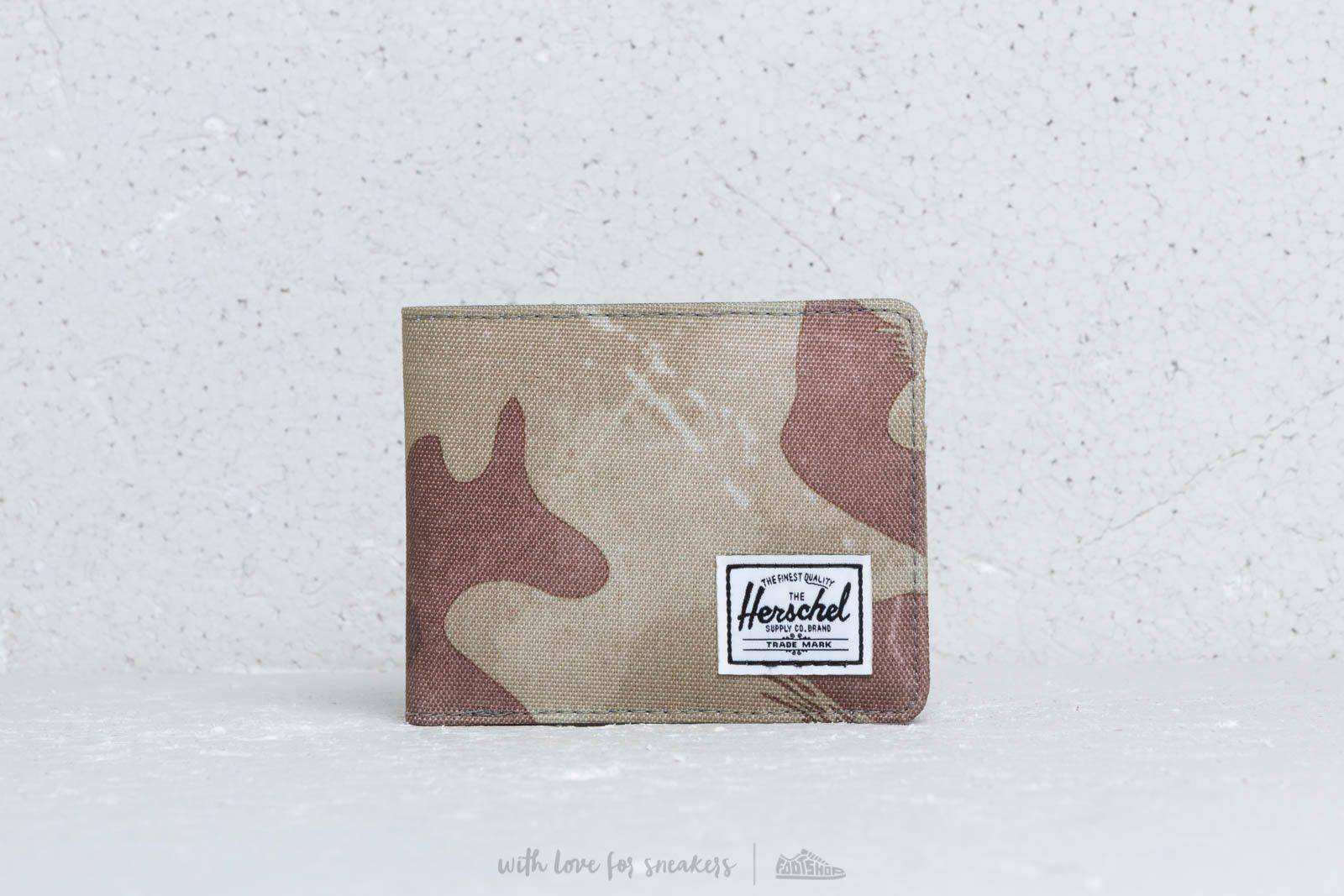 Herschel Supply Co. Roy Wallet Brushstroke Camo za skvelú cenu 29 € kúpite na Footshop.sk
