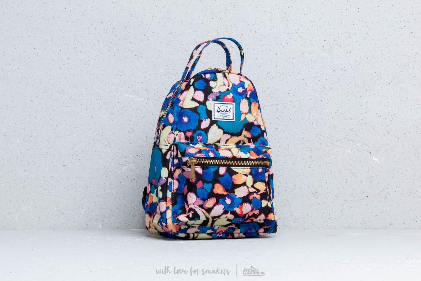 Herschel Supply Co  Nova Mini Backpack Painted Floral   Footshop