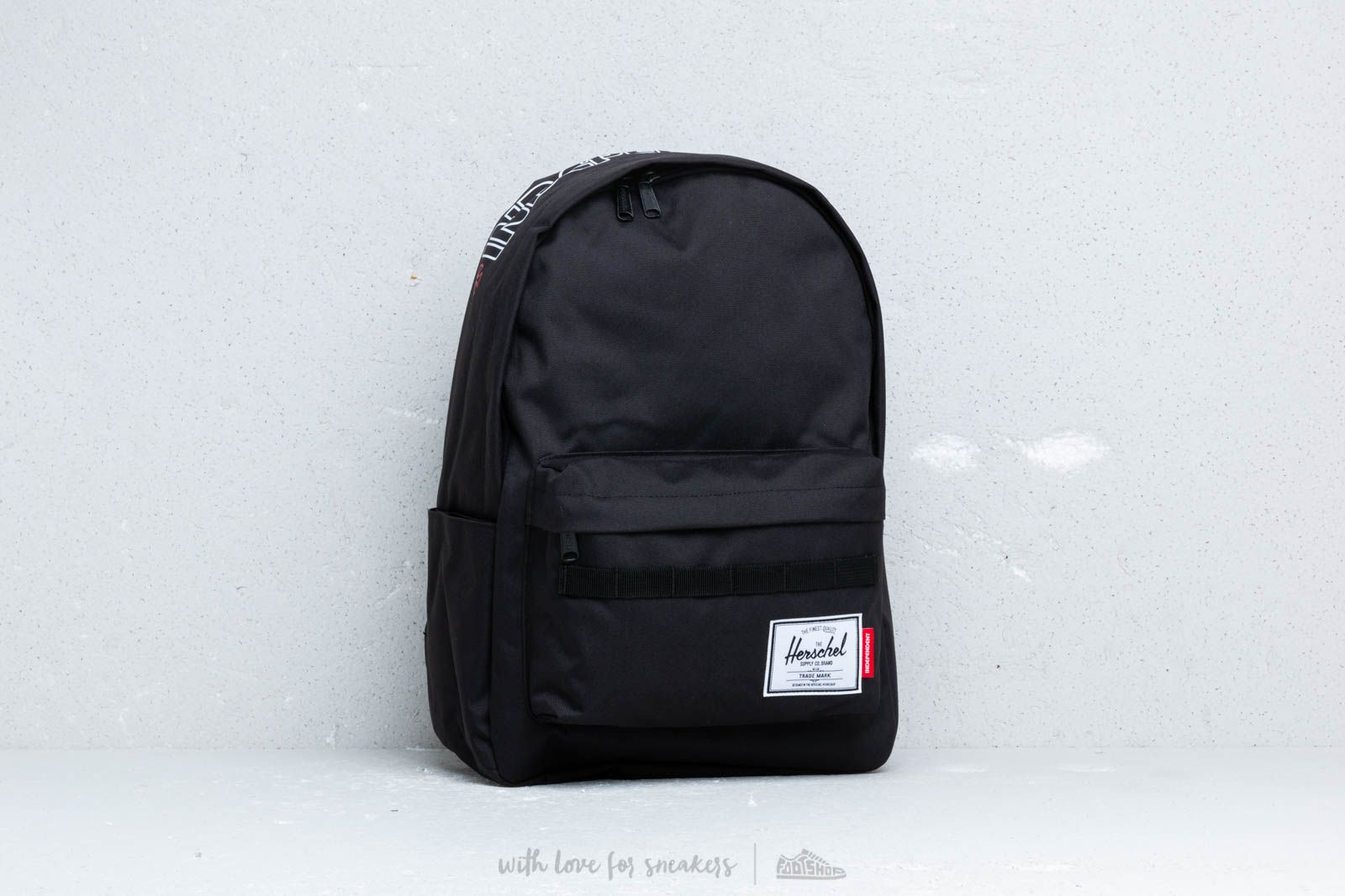 6d5a527b9e4 Herschel Supply Co. x Independent Classic Backpack XL Black | Footshop