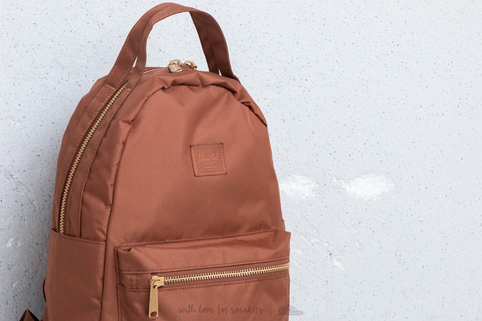 Herschel Supply Co. Light Nova Backpack Saddle Brown at a great price  80  buy at de0a948165079