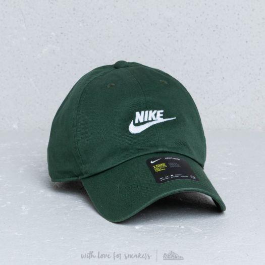 Nike Heritage 86 Futura Washed Cap Green  5833c779f49c