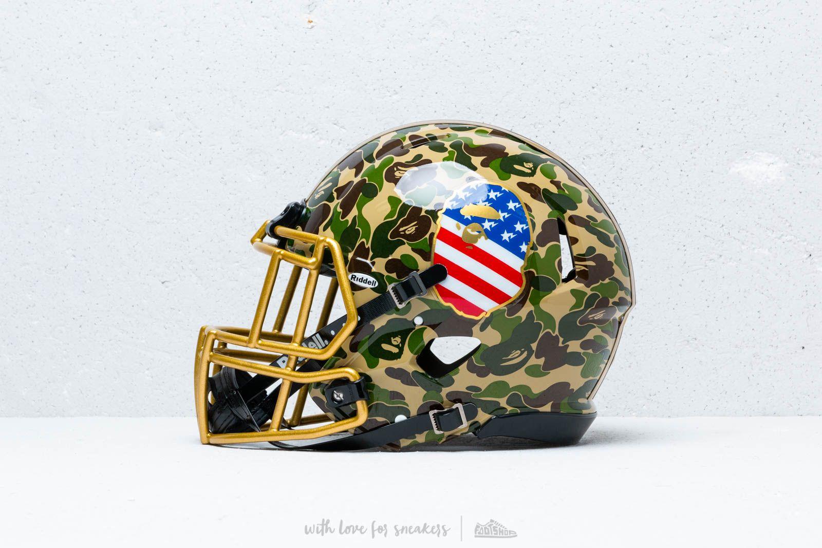 adidas x BAPE x Riddell Helmet