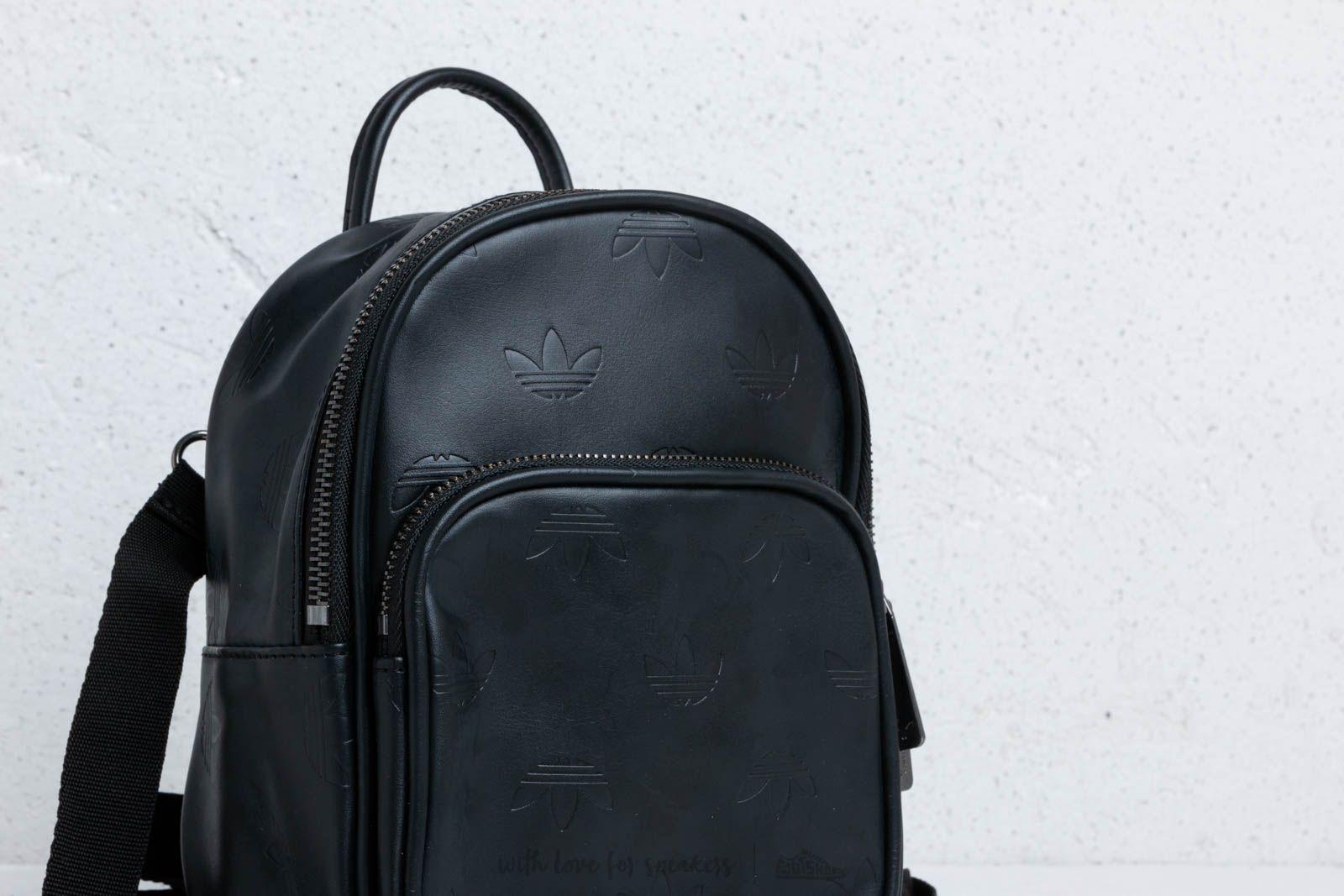 Adidas Originals Adicolor Mini Backpack Black at a great price 51 € buy at  Footshop a8f651efda676