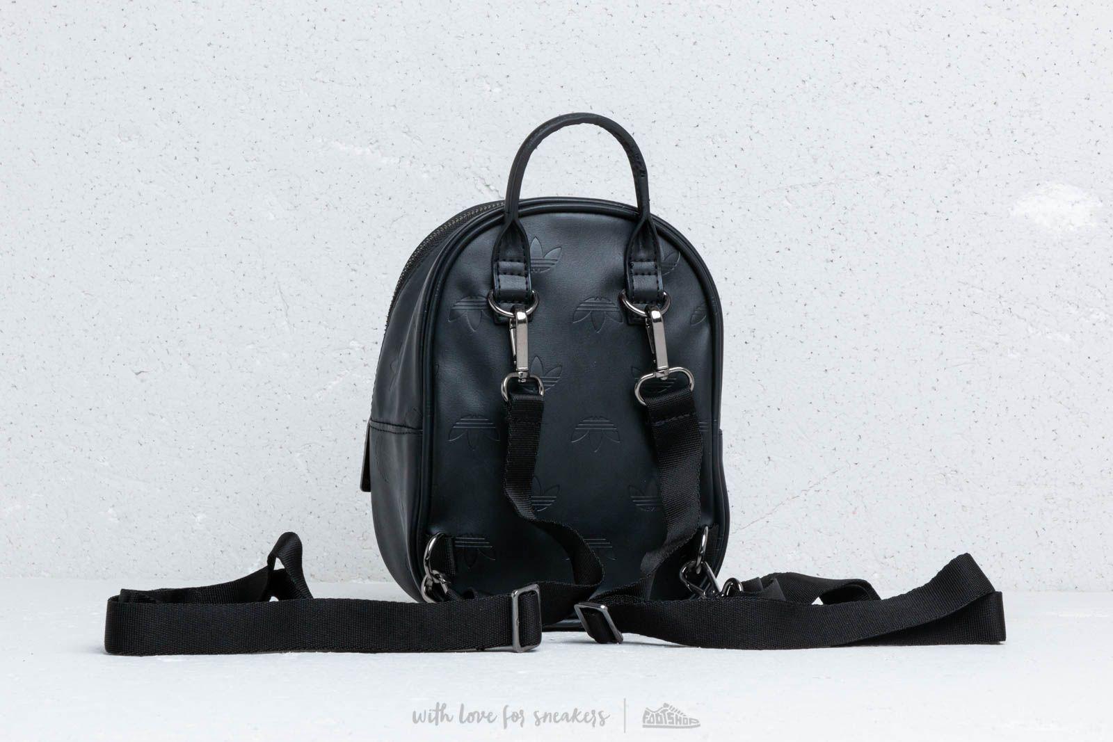 Adidas Originals Adicolor Mini Backpack Black at a great price 51 € buy at  Footshop 3c718b234837a
