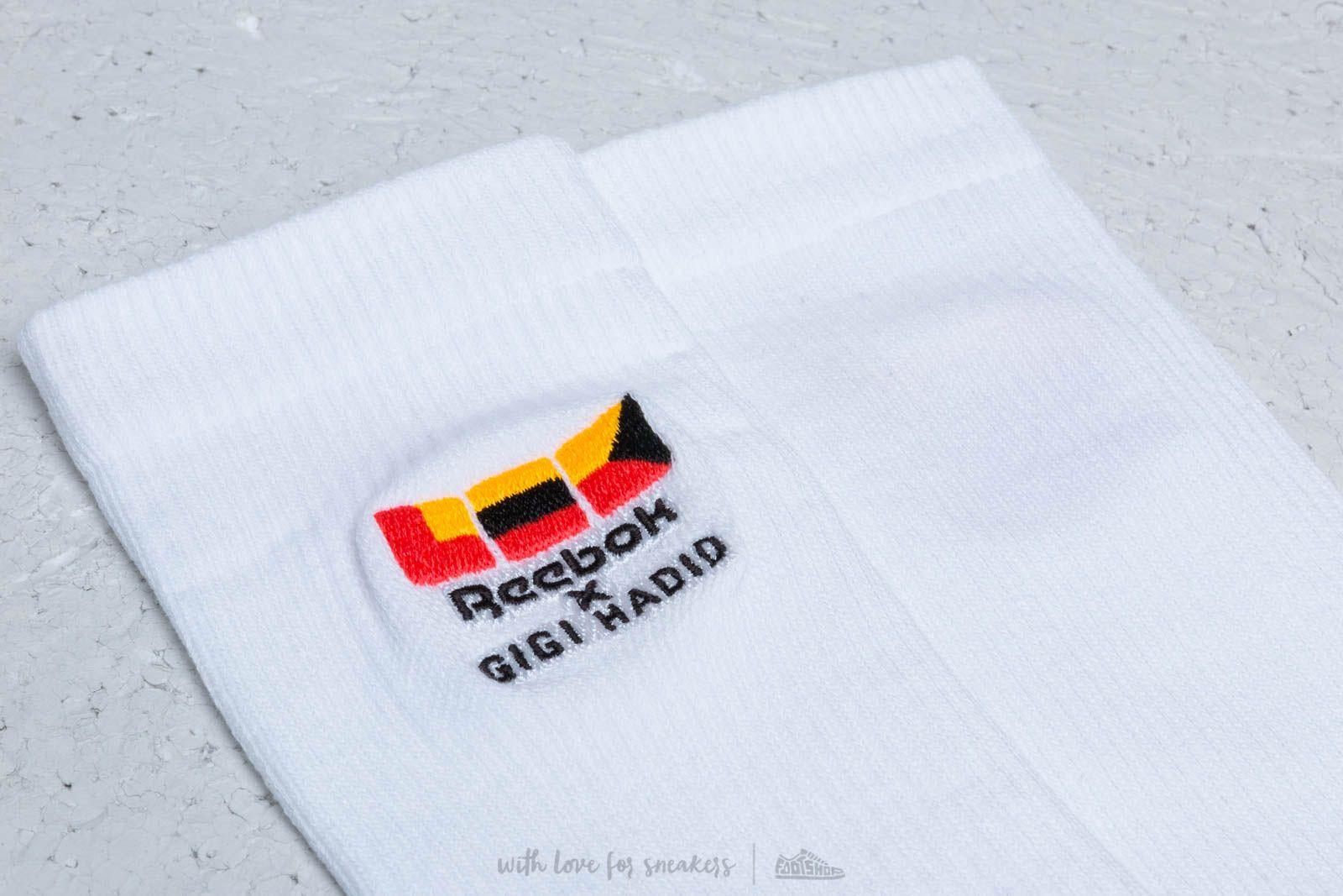 Reebok x Gigi Hadid Socks White at a great price 21 € buy at Footshop ee8d7c6f4
