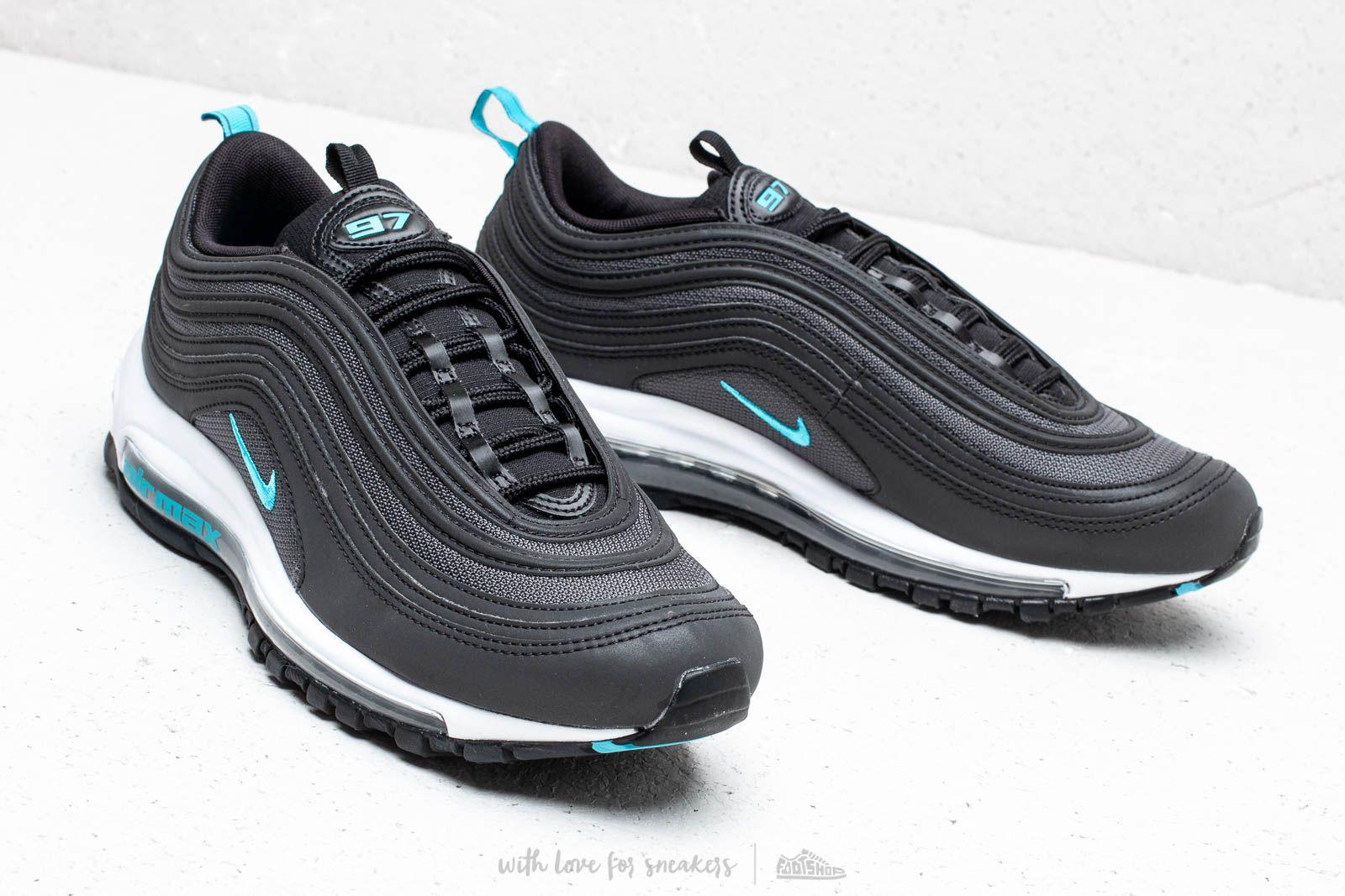 Nike Air Max 97 BlackBlue Fury Dark Grey For Sale