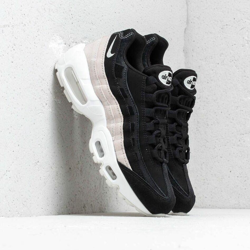 Nike Wmns Air Max 95 Prm Black/ Spruce Aura-Summit White EUR 41