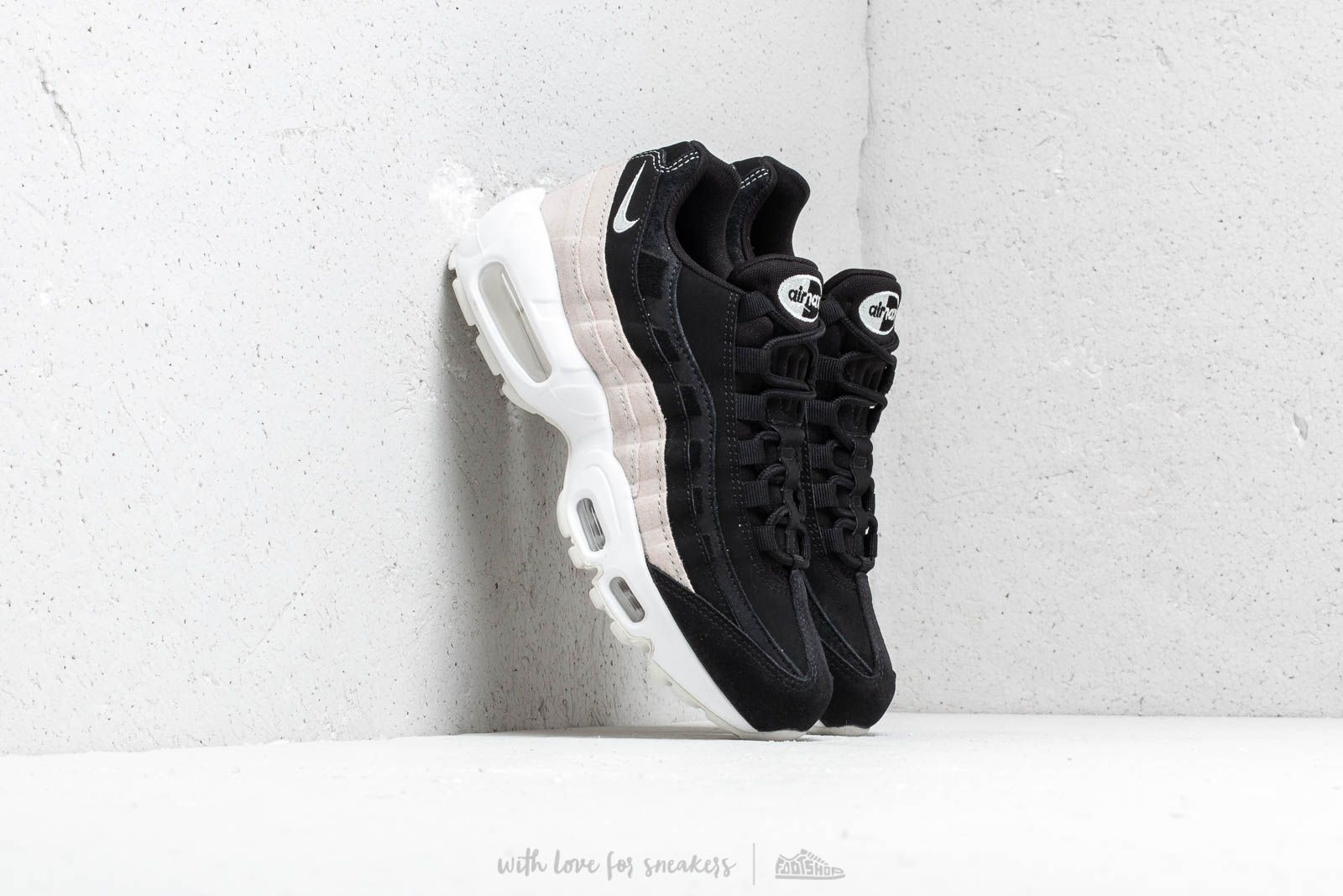 2a0254dfa7e Nike Wmns Air Max 95 Prm Black/ Spruce Aura-Summit White at a great
