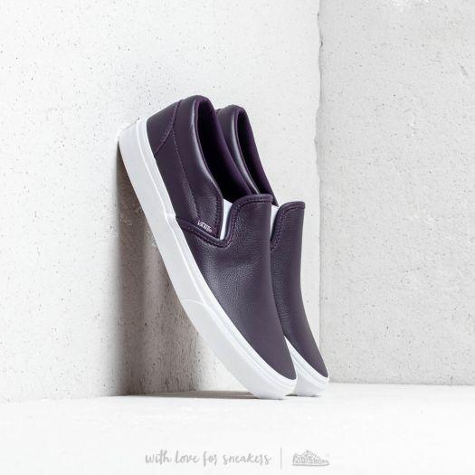 Sneaker Vans Vans Classic Slip-On (Leather) Mysterioso/ True