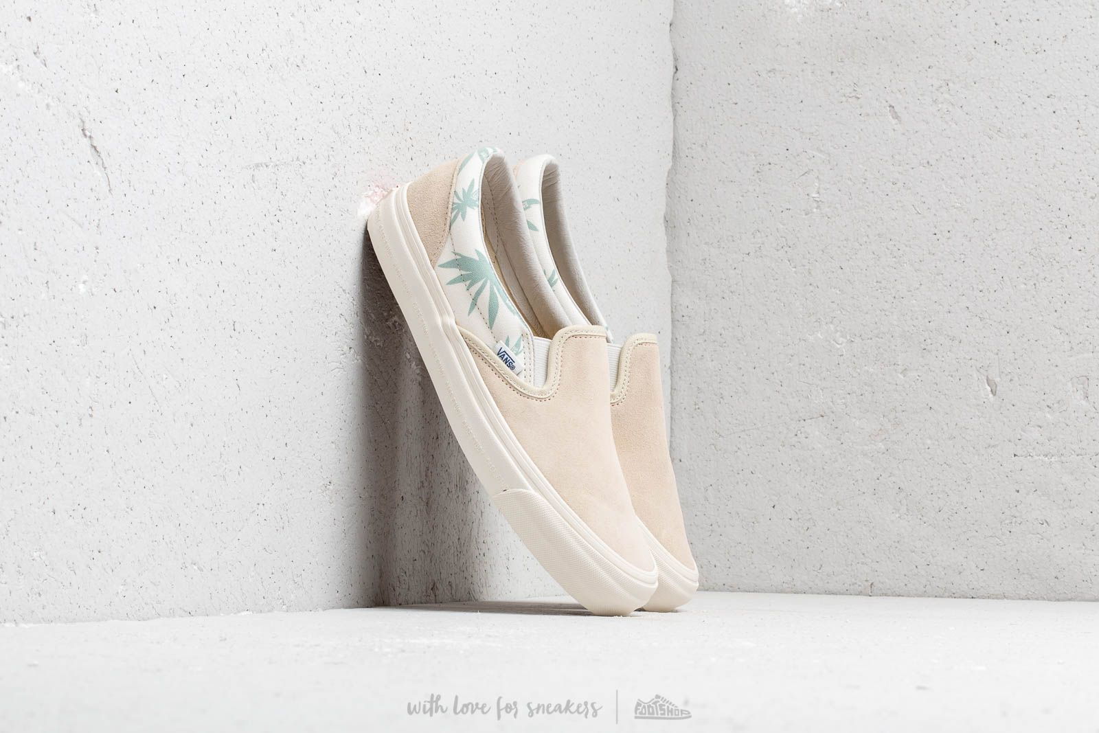 Vans x Modernica OG Classic Slip-On LX Seed Pearl/ Pa at a great price $86 buy at Footshop