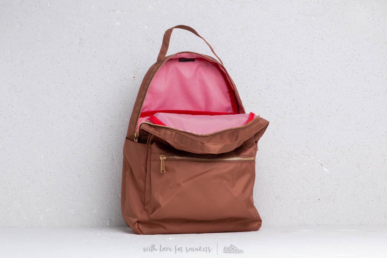 Batohy Herschel Supply Co. Nova Mid-Volume Backpack Saddle Brown