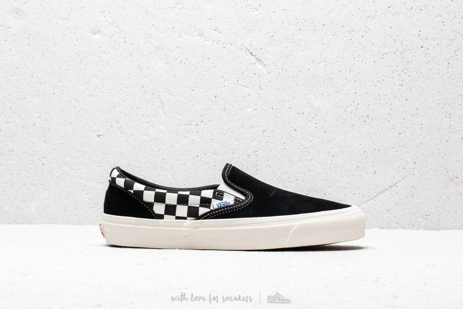 3d77437384 Vans x Modernica OG Classic Slip-On LX Black  Checkerboard at a great price
