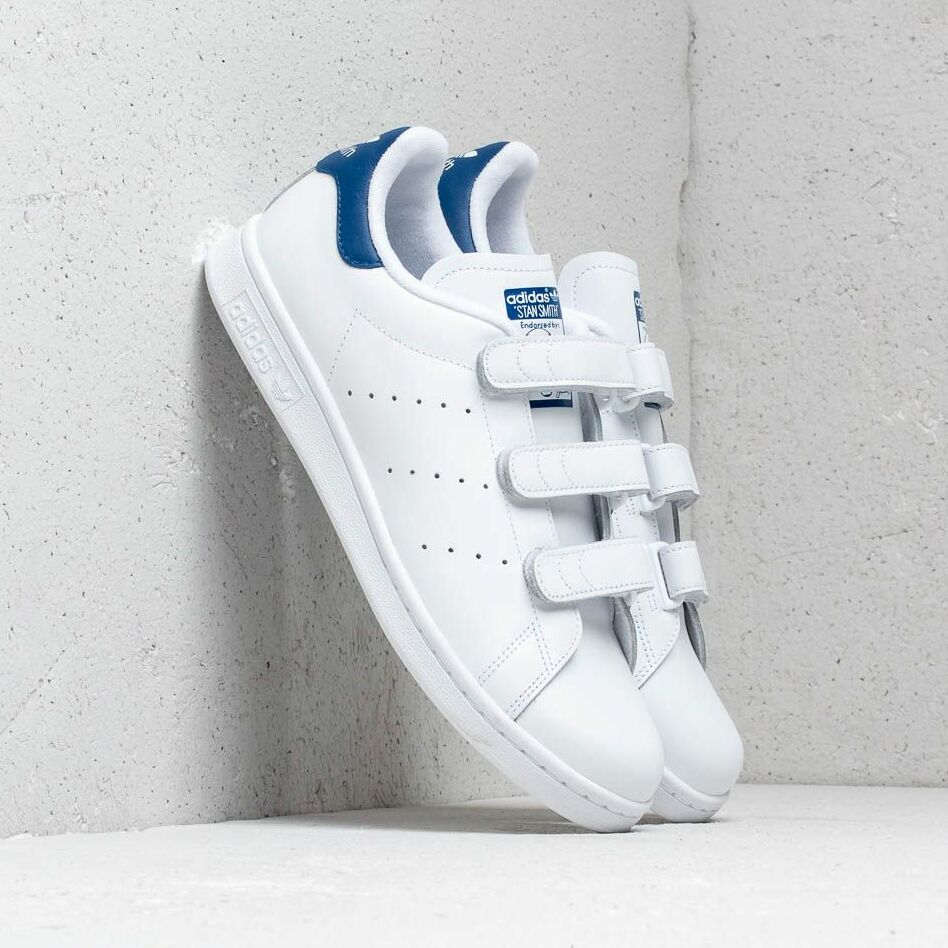 adidas Stan Smith CF Ftw White/Collegiate Royal EUR 46