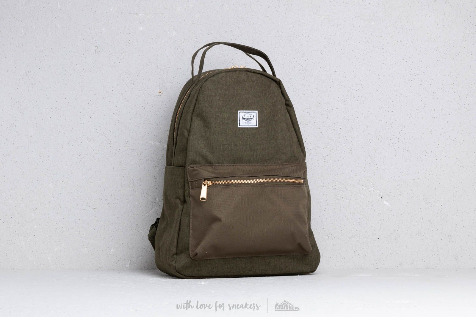 Herschel Supply Co. Nova Mid Backpack Olive Night at a great price  90 buy  at d0058586116d3