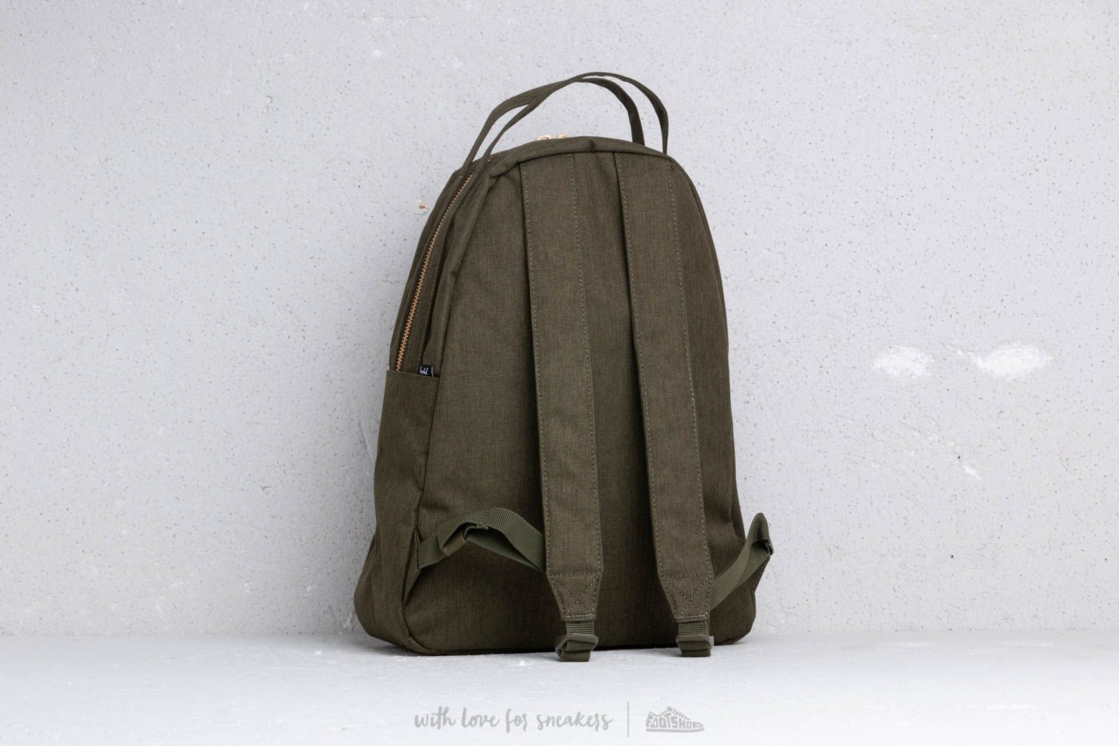 bf4647a905d Herschel Supply Co. Nova Mid Backpack Olive Night at a great price £67 buy