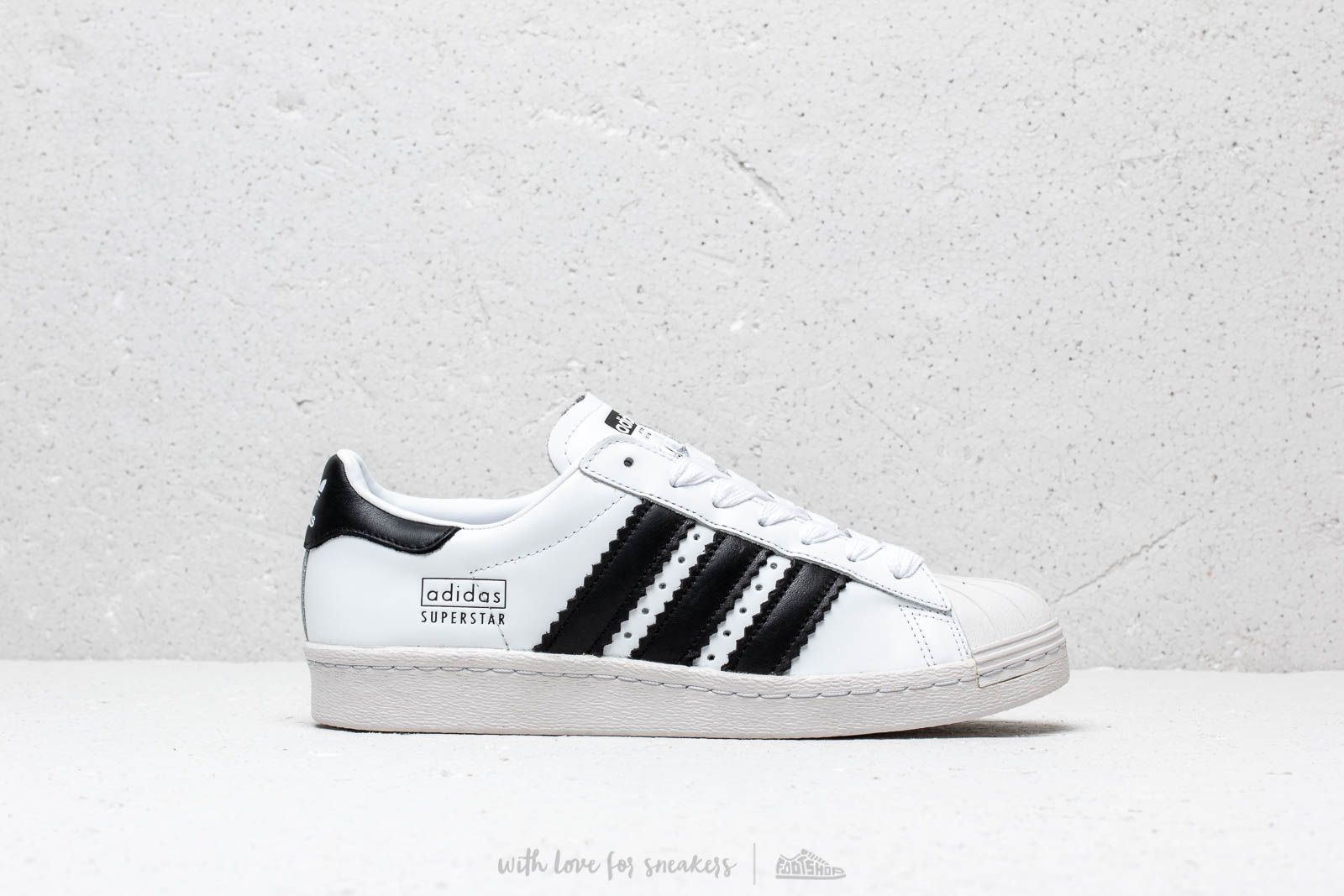 adidas Superstar 80S Ftw White Core Black Crystal White