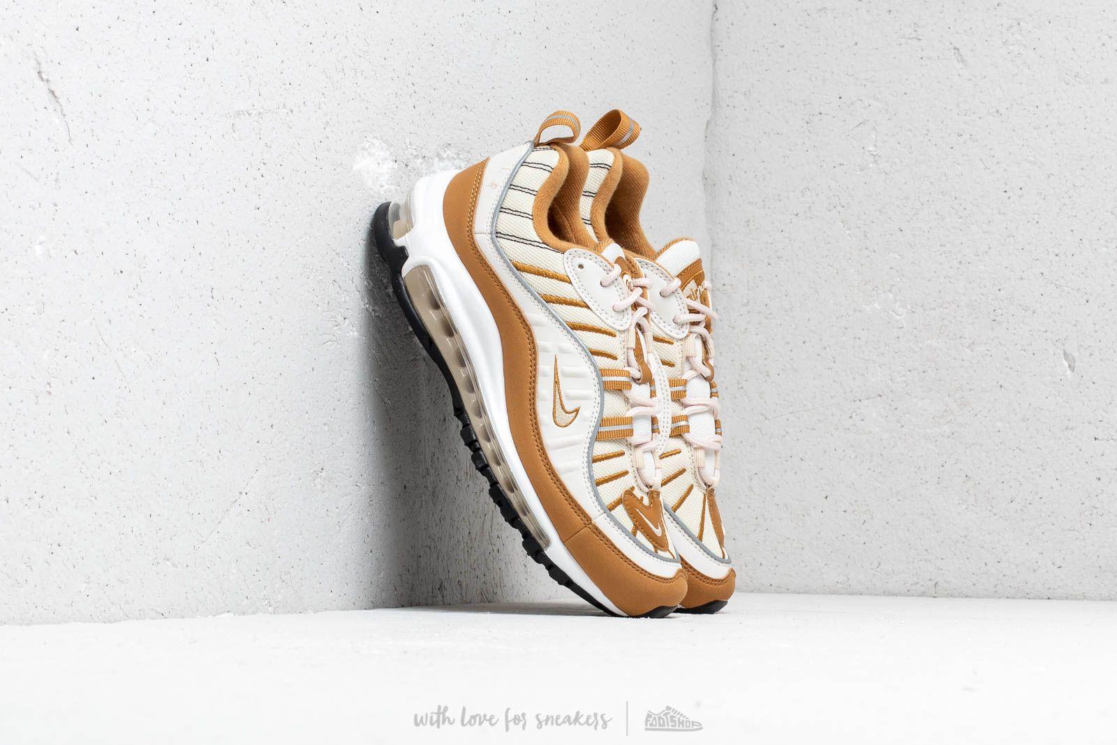 13637a50820 Nike W Air Max 98 Phantom  Beach-Wheat-Reflect Silver at a great