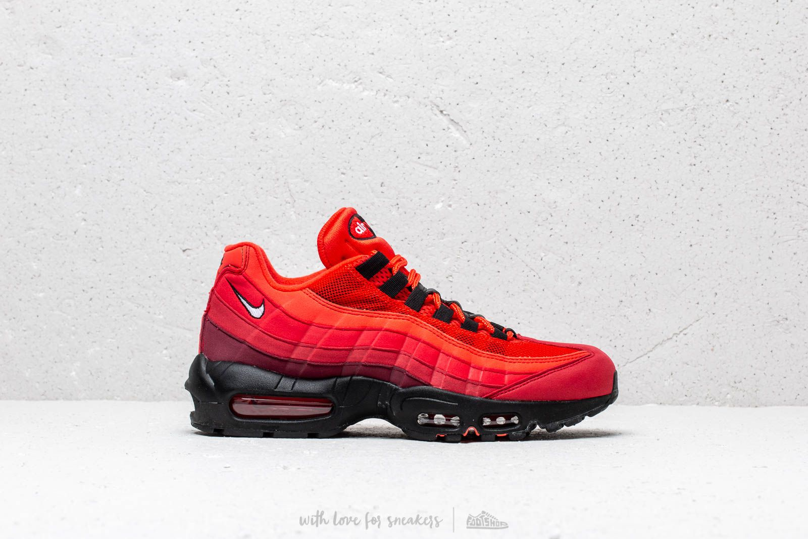 new product 1297b b8760 Nike Air Max 95 Og Habanero Red  White-University Red at a great price