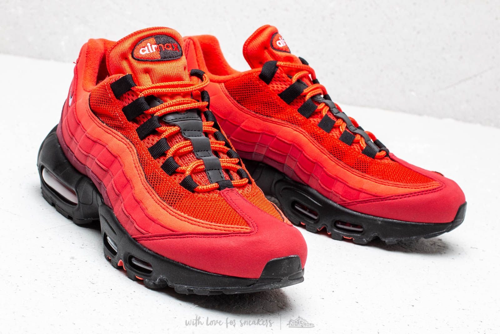 new concept c4b70 12beb ... canada nike air max 95 og habanero red white university red at a great  price 0d901