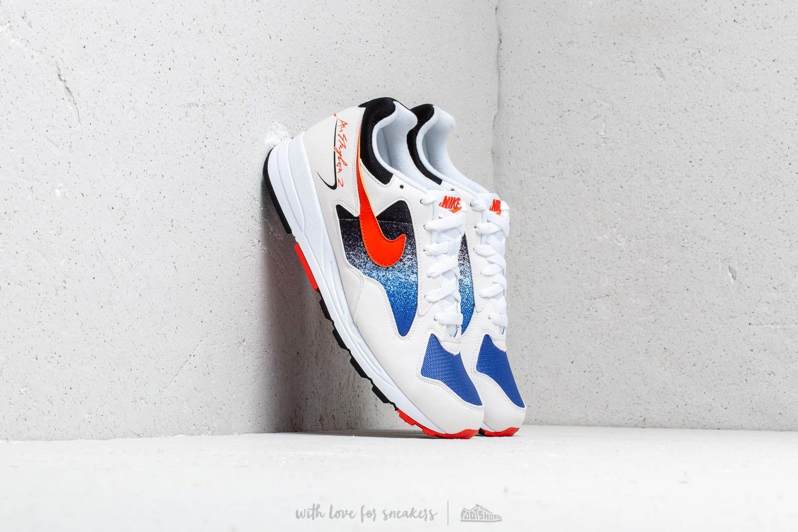 Pánské tenisky a boty Nike Air Skylon II White/ Team Orange-Hyper Royal-Black