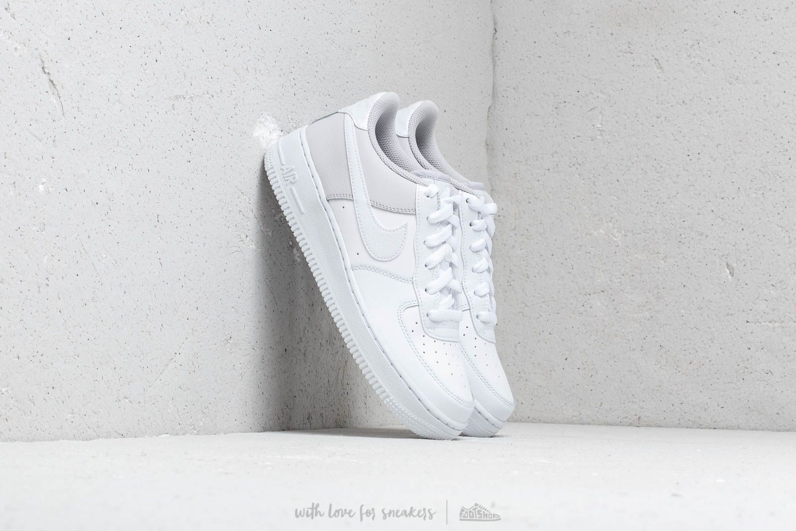 Nike Air Force 1 (GS) White/ White-Vast Grey