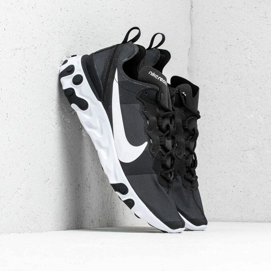 Nike React Element 55 Black/ White EUR 45