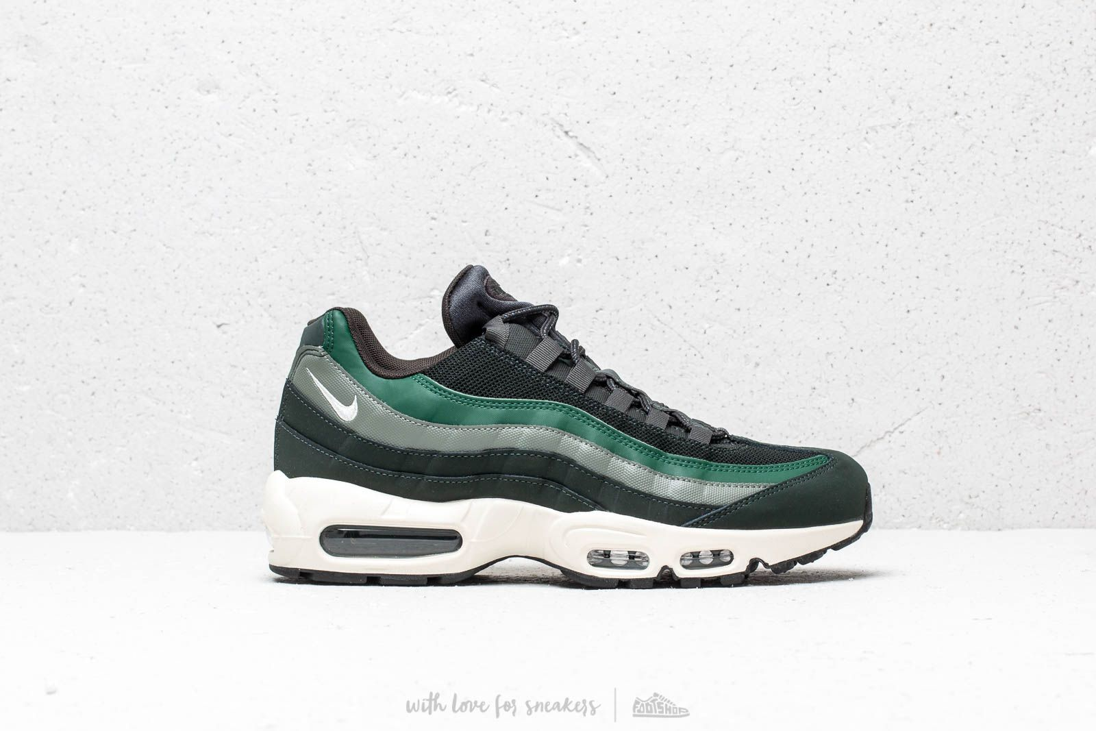 46388ac7d7 Nike Air Max 95 Essential Outdoor Green/ Sail-Fir-Vintage Lichen at a