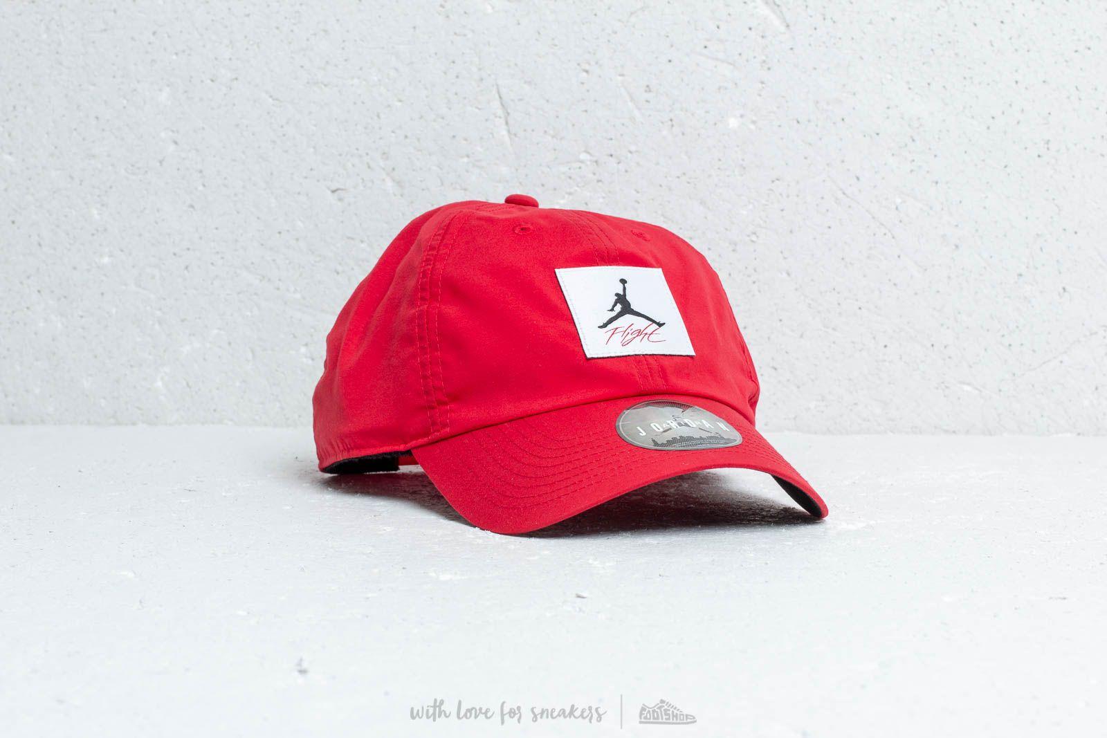 Jordan Flight H86 Legacy Cap Red at a great price 26 € buy at Footshop