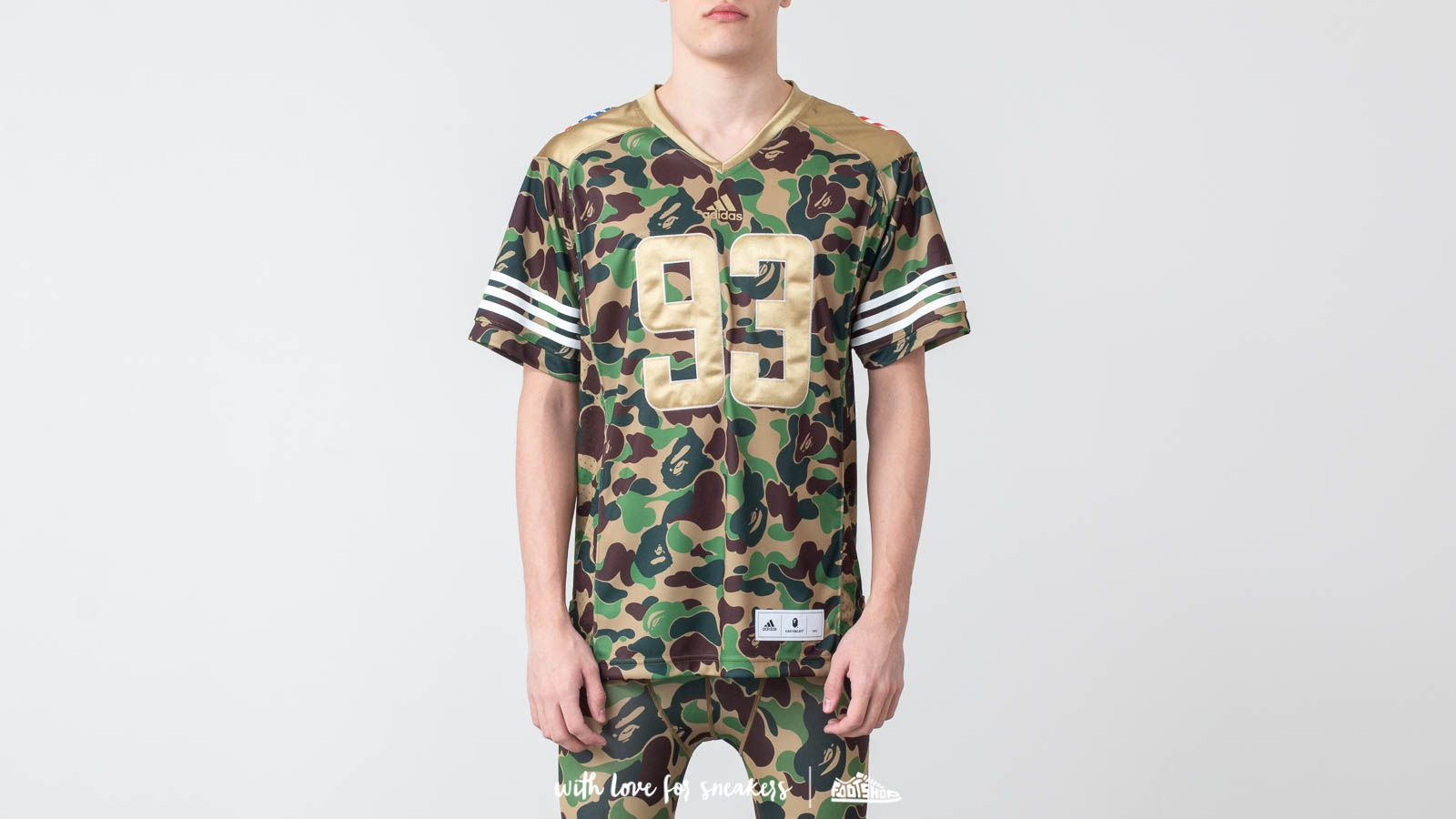 9e9b6d64 adidas x BAPE Football Jersey Multicolor at a great price 198 € buy at  Footshop