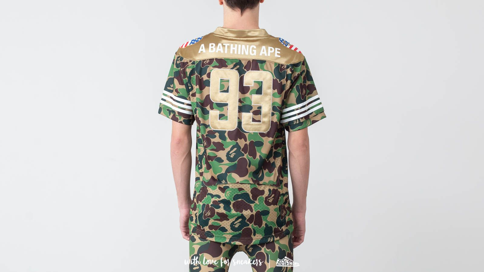 873f75e7c adidas x BAPE Football Jersey Multicolor at a great price 198 € buy at  Footshop