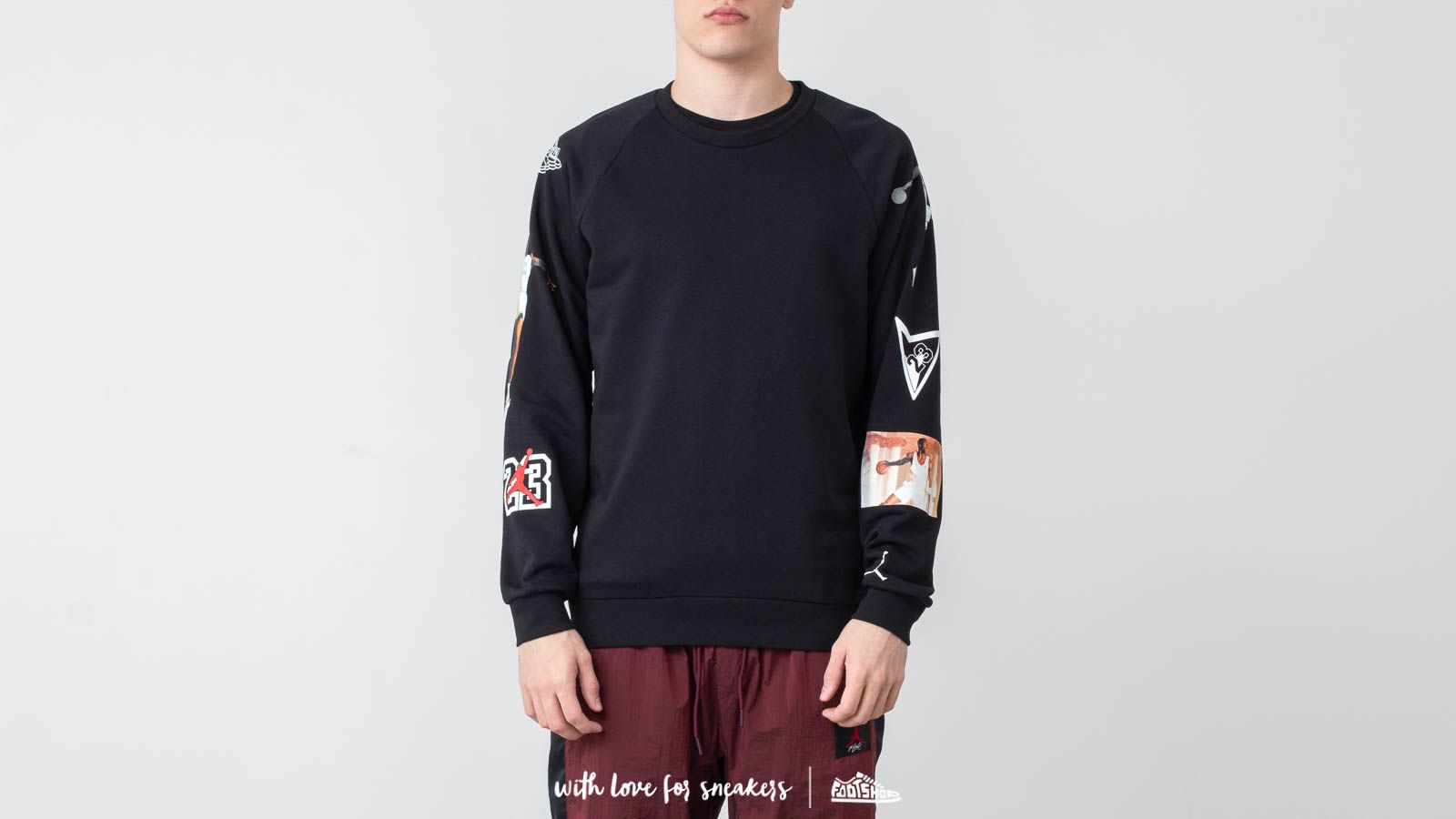 Jordan Jumpman Lightweight Graphic Crewneck