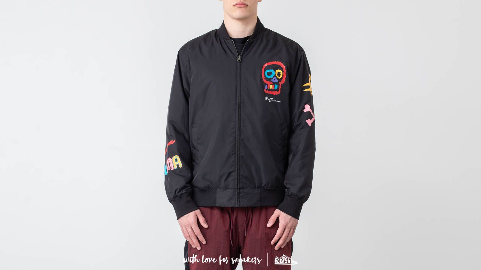 Puma x Bradley Theodore Reversible Bomber Jacket Black at a great price 191 € buy at Footshop