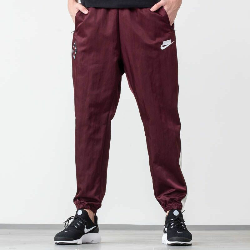 Nike Sportswear Woven Pants Night Maroon/ Sail/ White