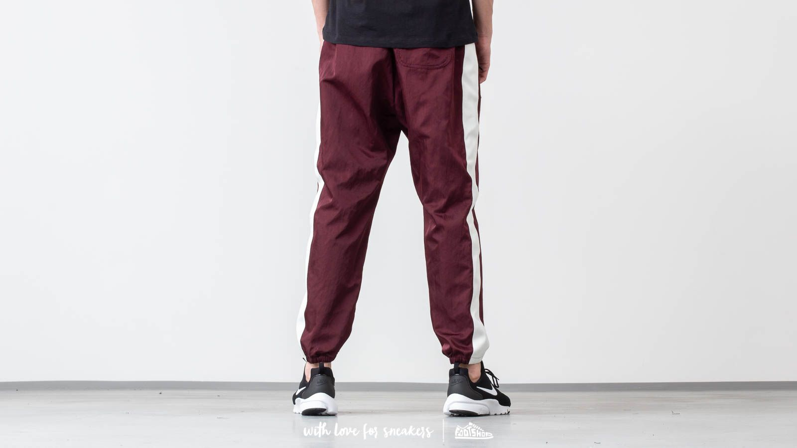 7cad2feca Nike Sportswear Woven Pants Night Maroon/ Sail/ White at a great price $77  buy