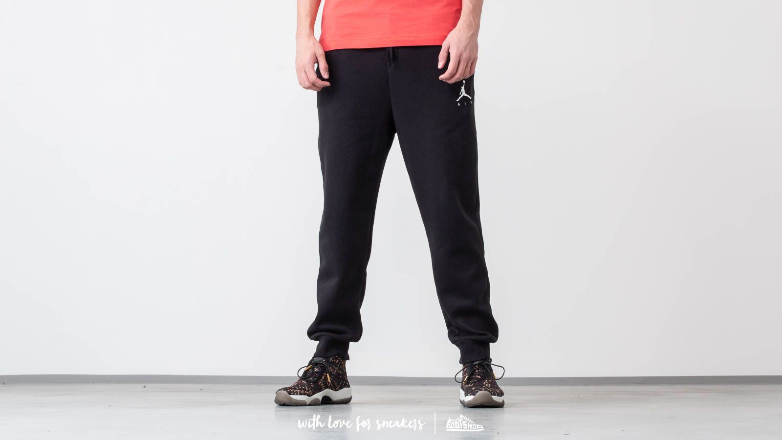Jordan Air Jumpman Fleece Pants Black at a great price 62 € buy at Footshop