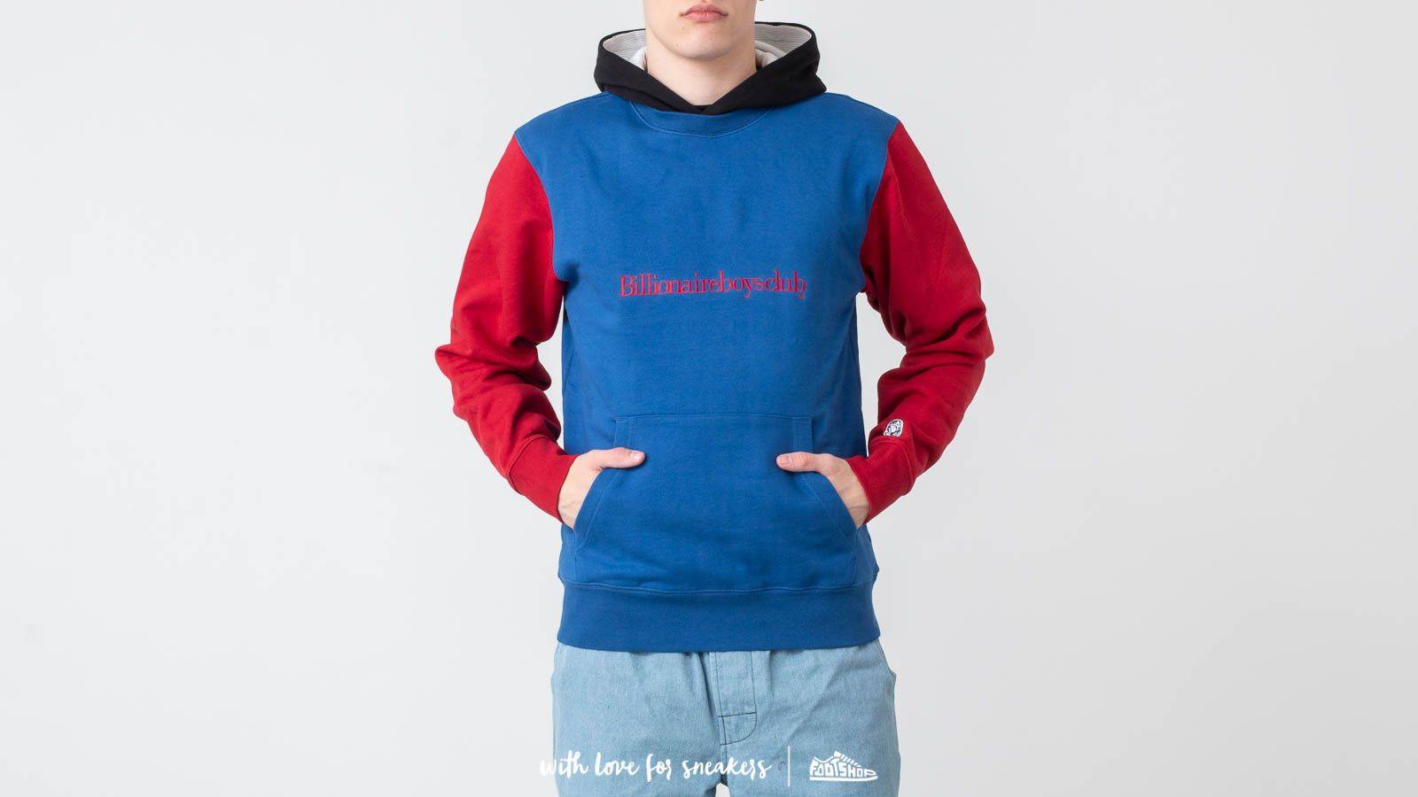 Puloveri i džemperi Billionaire Boys Club Colour Popover Hoodie Multicolor