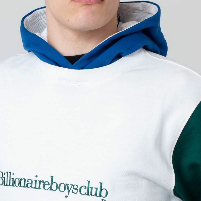 Billionaire Boys Club Colour Popover Hoodie White